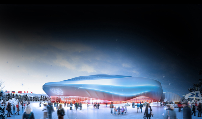 Gangneung Ice Arena - artist impression #3